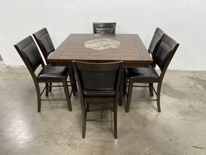 Counter height kitchen table set FINANCE AVAILABLE floor model for Sale in Phoenix, AZ
