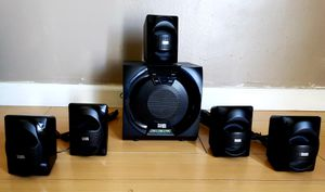 Powered 5.1 Bluetooth Home Theater Speaker System for Sale in Los Angeles, CA