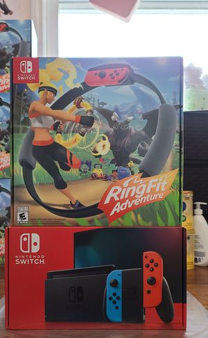Nintendo Switch RingFit Adventure Brand New for Sale in Lowell, MA