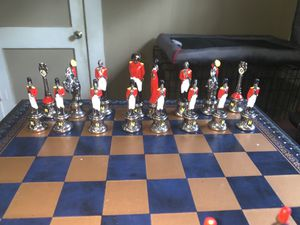 Napoleon hand crafted chess board €215,00 for Sale in Houston, TX