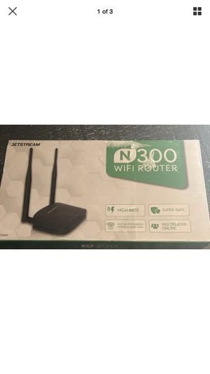 JETSTREAM N300 WIFI ROUTER (ERACN300) for Sale in North Little Rock, AR