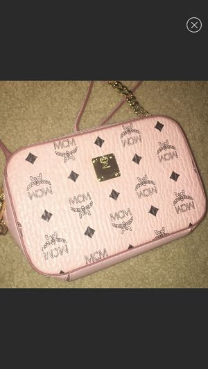 PINK MCM CROSSBODY BAG for Sale in Stone Mountain, GA