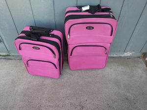 Leisure Pink Suitcase bundle for Sale in Stockton, CA