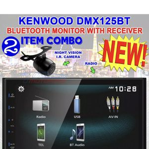 """KENWOOD DMX125BT DOUBLE DIN 6.8"""" TOUCHSCREEN CAR STEREO DIGITAL MEDIEA RECEIVER for Sale in San Diego, CA"""