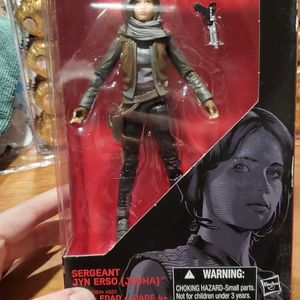 Star Wars The Black Series Rogue One Sergeant Jyn Erso for Sale in Las Vegas, NV