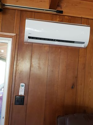 DUCTLESS MINI-SPLIT INSTALLATIONS❄️ BRAND NEW IN BOX UNITS mini-split unit has 4 functions: -air conditioner -heater -dehumidifier for Sale in San Diego, CA