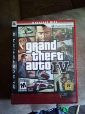 PlayStation 3 GTA IV for Sale in Deville, LA