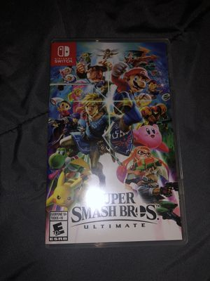 Super smash bro's ultimate Nintendo switch for Sale in Garland, TX