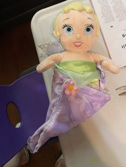 Baby tinker bell plush delivery Obo for Sale in Los Angeles,  CA