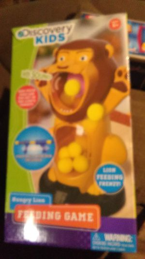 Discovery Kids Hungry Lion feeding game for Sale in St. Louis, MO