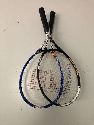 Pair of tennis rackets for Sale in Moorestown, NJ