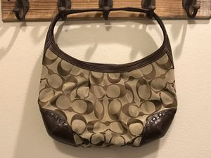 Brown/Tan Coach Hobo Hand Bag GREAT PRICE!! for Sale in Vancouver, WA