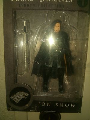 Jon Snow Action Figures Legacy Collection Game of Thrones for Sale in Fresno, CA