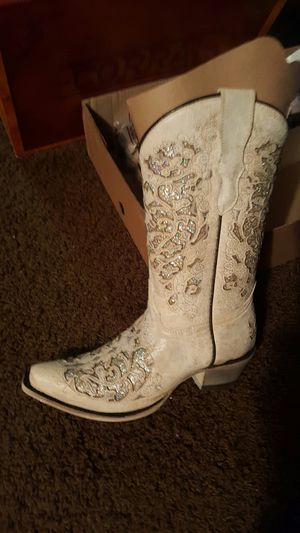 Stunning Beautiful Corral Glitter inlay boots for Sale in Cornelius, OR