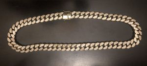 Great Gold Plated heavy Cuban link chain for Sale in Dublin, CA