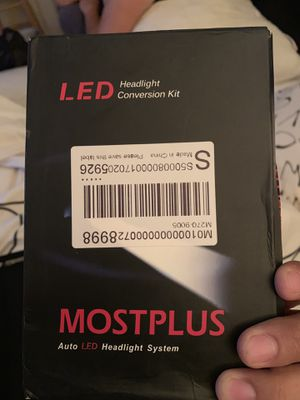 Headlights high beam 9005 LED for Sale in Queens, NY