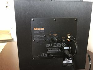 klipsch subwoofer & 2 speakers for Sale in San Diego, CA