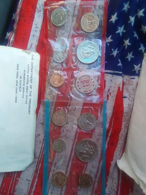 1972 uncirculated coin set for Sale in Menomonie, WI