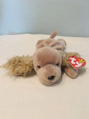 """Spunky"" cocker spaniel dog TY Beanie Baby 1997 Retired for Sale in Austin, TX"
