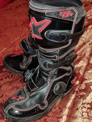 Sz 8 Women's Alpine Star TECH 6 Motocross Boots for Sale in Perris, CA