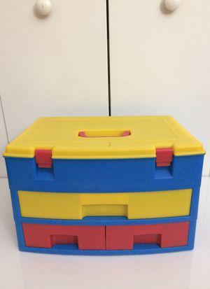 Multi-Colored Hard Plastic Storage/Drawer Box for Sale in Los Angeles, CA