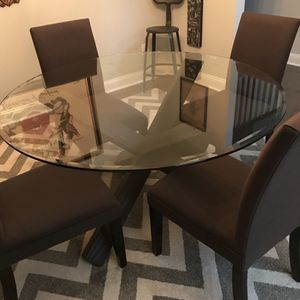 Glass Table For Sale for Sale in Youngsville, NC