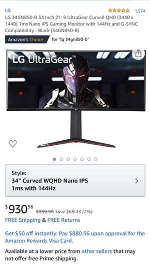 LG computer gaming monitor for Sale in Commerce, CA