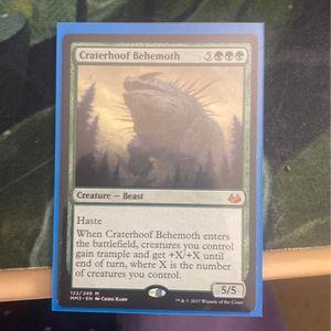 Craterhoof Behemoth for Sale in Fairfax, VA