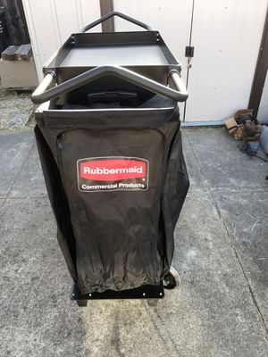 Excellent Real Deal New heavy duty custodial cart very strong construction . Can be used in shops and many other purposes for Sale in Fairfield, CA