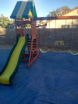 Swing and slide set for Sale in Palmdale, CA