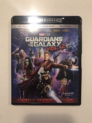 Guardians of the Galaxy Vol. 2 4K Blu-ray for Sale in Aurora, CO