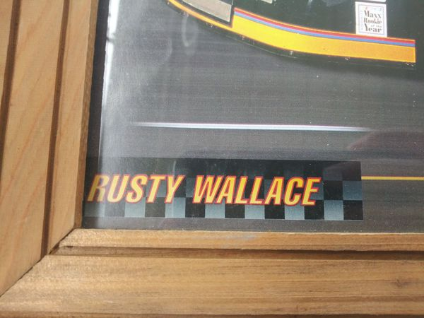Rusty wallace framed pic