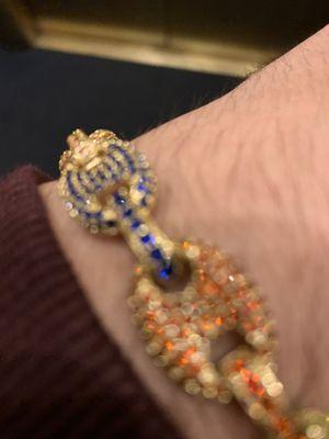 Multi Color Diamond Gucci Link Bracelet for Sale in Downey, CA