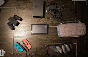 Nintendo switch with controller and games for Sale in Los Angeles, CA