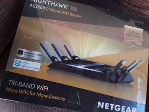 "Netgear - ""NIGHTHAWK"" AC3200 Tri-Band WiFi Router [R8000] for Sale in Riverside, CA"