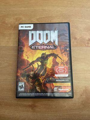 Doom eternal pc for Sale in San Diego, CA