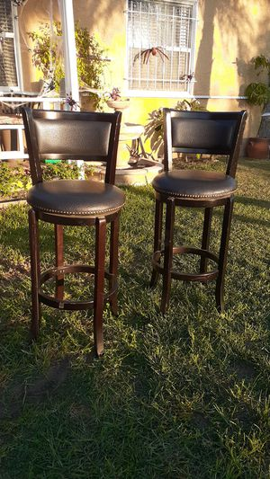 Leather high stools for Sale in Compton, CA