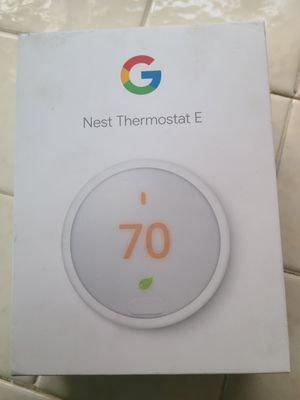 Nest E thermostat for Sale in Calimesa, CA