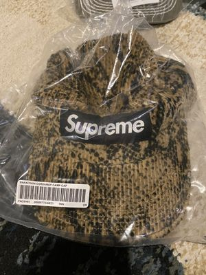 Supreme Snakeskin Camp Cap for Sale in Chula Vista, CA