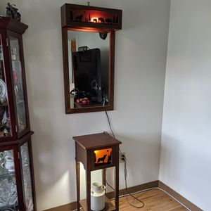 South Western Table And Mirror for Sale in Watertown, CT
