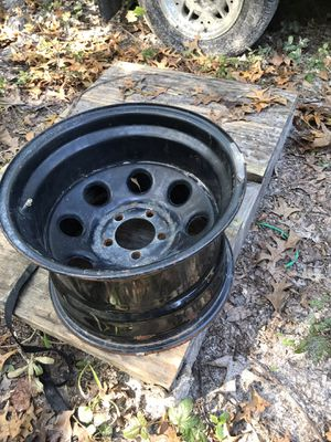 15x 10 Jeep/ford rims (4) for Sale in Hudson, FL