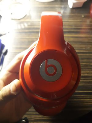 RED NOISE CANCELLING BEATS BY DRE STUDIO EDITION for Sale in Bellevue, WA