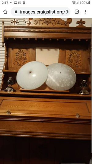 2 VERY NICE LAMP GLOBES for Sale in Lynchburg, VA