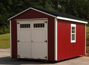 Wood barn sheds in various sizes, shapes, and colors for Sale in Jasper, GA