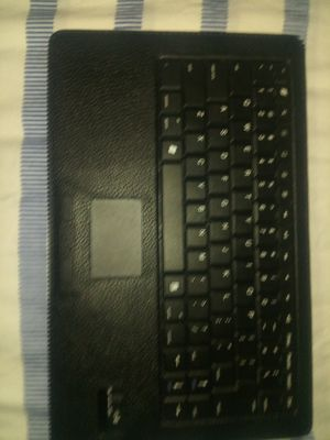 Bluetooth Keyboard mouse pad. And case for Sale in Denver, CO