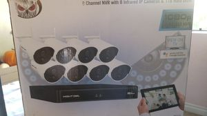 Night Owl 8 Channel 1080p Wireless Smart Security System with 8 Wireless Infrared IP Cameras and 1 TB Hard Drive for Sale in Spring Valley, CA