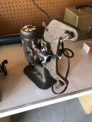 Vintage 8mm reel to reel and slide projector for Sale in Murrieta, CA