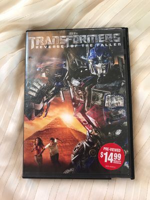 Transformers Revenger of the Fallen Movie 💙 for Sale in Moreno Valley, CA