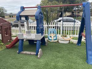 Little swing set for Sale in Fontana, CA