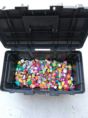 223 Shopkins Kids Toys and Husky Tool box for Sale in Henderson, NV